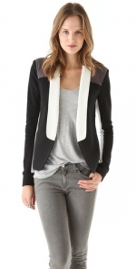 Pennys coloblocked blazer by Pencey Standard at Shopbop