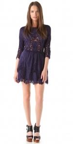 Pennys navy lace dress by Dolce Vita at Shopbop