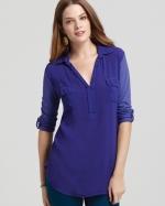 Pennys purple shirt by Splendid at Bloomingdales