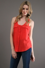 Penny's red tank top at Couture Candy