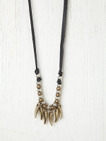 Penny's spiked necklace on Happy Endings at Free People