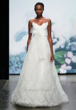 Pennys wedding gown at Monique