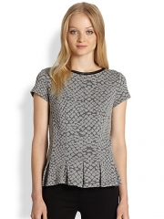Peplum top by Rebecca Taylor at Saks Fifth Avenue