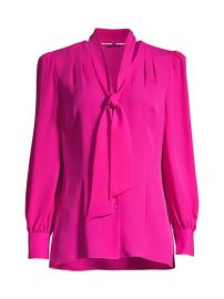 Percy Tie Silk Blouse at Saks Fifth Avenue