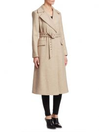 Perfect Belted Coat by Theory at Saks Off Fifth