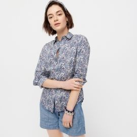 Perfect shirt in Liberty June\'s Meadow floral print Blouse by J. Crew at J. Crew