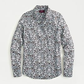 Perfect shirt in Liberty Sea Grass Floral at J. Crew