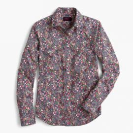 Perfect shirt in Liberty reg  Kayoko floral at J. Crew