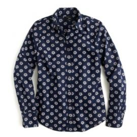 Perfect shirt in scattered daisy at J. Crew