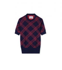 Performance Merino Short Sleeve Sweater at Tory Sport
