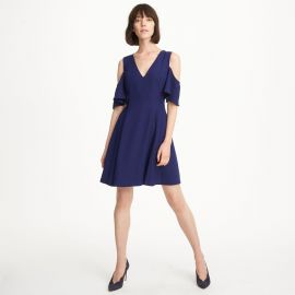 Pernille Cold-Shoulder Dress at Club Monaco
