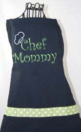 Personalized Apron and Chef Hat by Shopmemento at Etsy