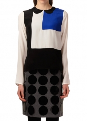 Peter Jenson Colorblock top at Gravitypope