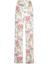 Peter Pilotto floral-print wide-leg Trousers - Farfetch at Farfetch
