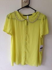 Peter pan blouse by Kensie at eBay