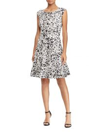 Petites Floral Jersey Dress Lauren Ralph Lauren Petites at Bloomingdales