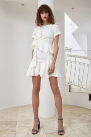 Phase Short Sleeve Dress by C/Meo Collective at Fashion Bunker
