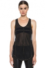 Phil Studded Tank Top by Isabel Marant at Forward by Elyse Walker