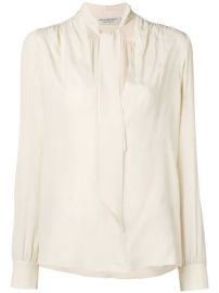 Philosophy Di Lorenzo Serafini Tie Top Blouse - Farfetch at Farfetch