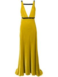 Philosophy Di Lorenzo Serafini Velvet Evening Dress - Farfetch at Farfetch