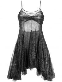 Philosophy Di Lorenzo Serafini shimmer high low dress at Farfetch