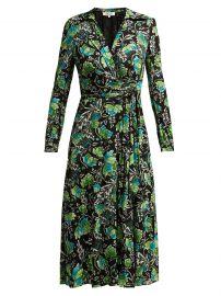 Phoenix Floral Wrap Dress by Diane von Furstenberg at Matches