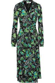 Phoenix Floral Wrap Dress by Diane von Furstenberg at The Outnet