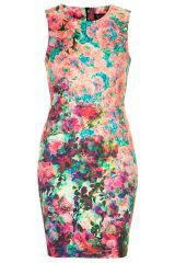 Photo Print Column Dress at Topshop