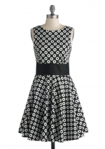 Photogram gallery dress at ModCloth
