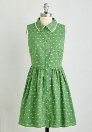 Picket Fence Perfection Dress at ModCloth