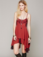 Pieced Lace Tunic at Free People