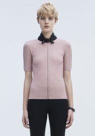 Pierced Short Sleeve Top at Alexander Wang