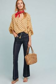 Pilcro High Rise Flare Jeans at Anthropologie