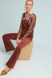 Pilcro and the Letterpress Corduroy Overalls at Anthropologie