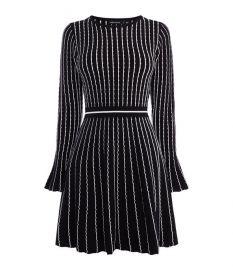 Pin-stripe Knit Dress at Karen Millen