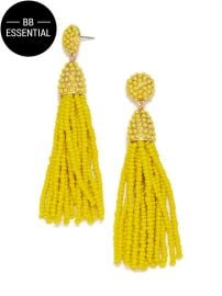 Pinata tassel earrings at Baublebar