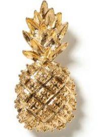 Pineapple Brooch at Banana Republic