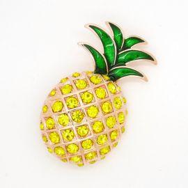 Pineapple brooch at Etsy