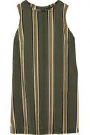 Pinga striped silk-chiffon top at The Outnet