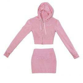 Pink Baby Girl Swarovski Set at Akna