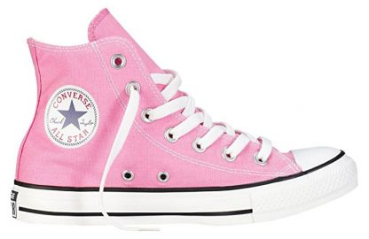 Pink Converse High Top Sneakers at Amazon