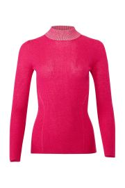 Pink Dione Sweater at Rent the Runway