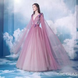 Pink Gown at Nicolas Jebran