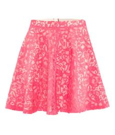 Pink Lace Skirt at H&M