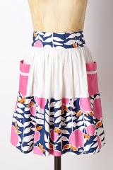 Pink Lady Apron at Anthropologie