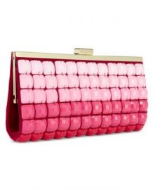 Pink Ombre Tile Clutch Purse by INC International Concepts at Macys