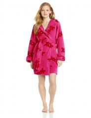 Pink Plush XOX Robe by Betsey Johnson at Amazon