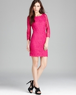 Pink Zarita dress by DvF at Bloomingdales