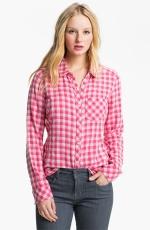 Pink check shirt at Nordstrom at Nordstrom