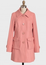 Pink coat at Shop Ruche at Ruche